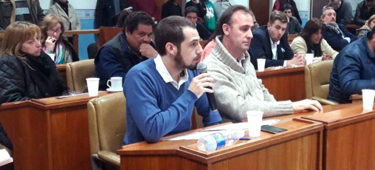 """Indignación de los concejales de """"Cambiemos"""" con los bloques oficialistas"""