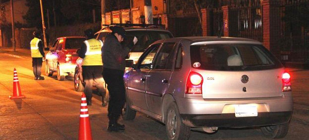 Operativos de seguridad vial: se hicieron 516 multas durante junio