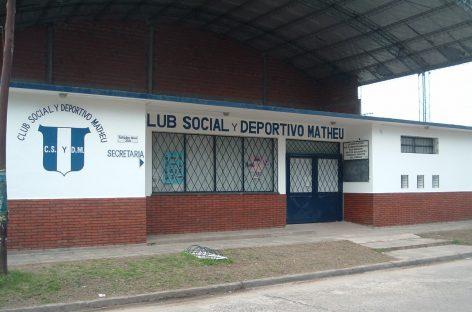 Club Social y Deportivo Matheu – Asamblea