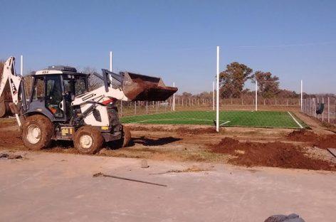 La Municipalidad de Escobar avanza con las obras en el polideportivo de Matheu