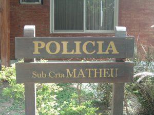SUB-COMISARIA MATHEU