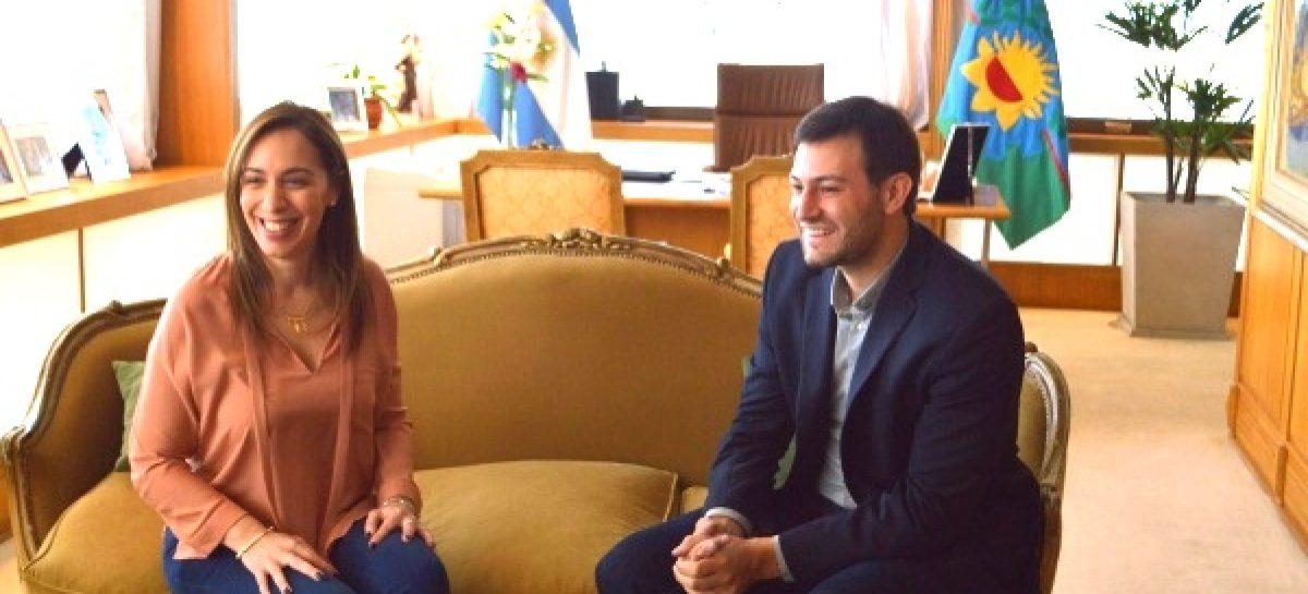 Leandro Costa se reunió con María Eugenia Vidal