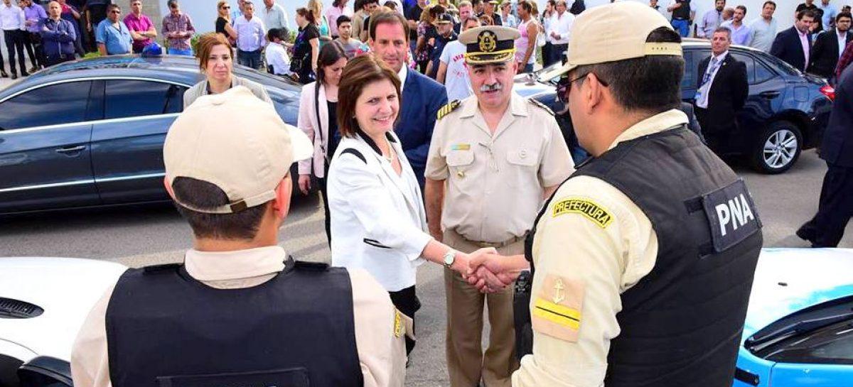 Sujarchuk, Bullrich y Burzaco pusieron en marcha los operativos de  las fuerzas federales en el municipio de Escobar