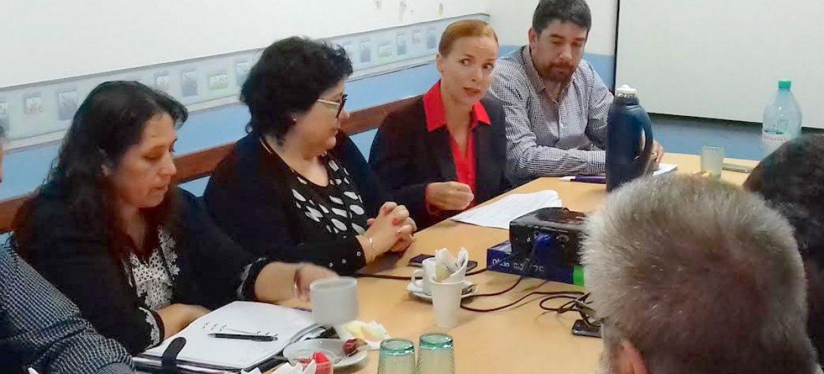 HCD: Reunión de trabajo por programa de reconversión de luminarias por tecnología LED en la vía pública