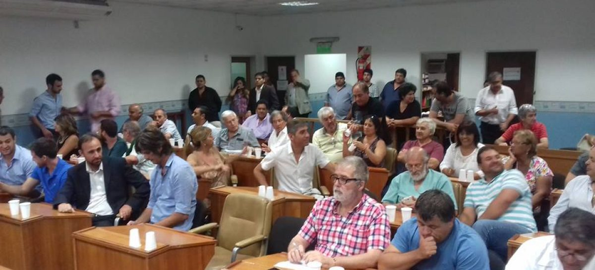 Asamblea de Concejales y Mayores Contribuyentes: se aprobó un empréstito por 35 millones de pesos para automotores y maquinaria vial
