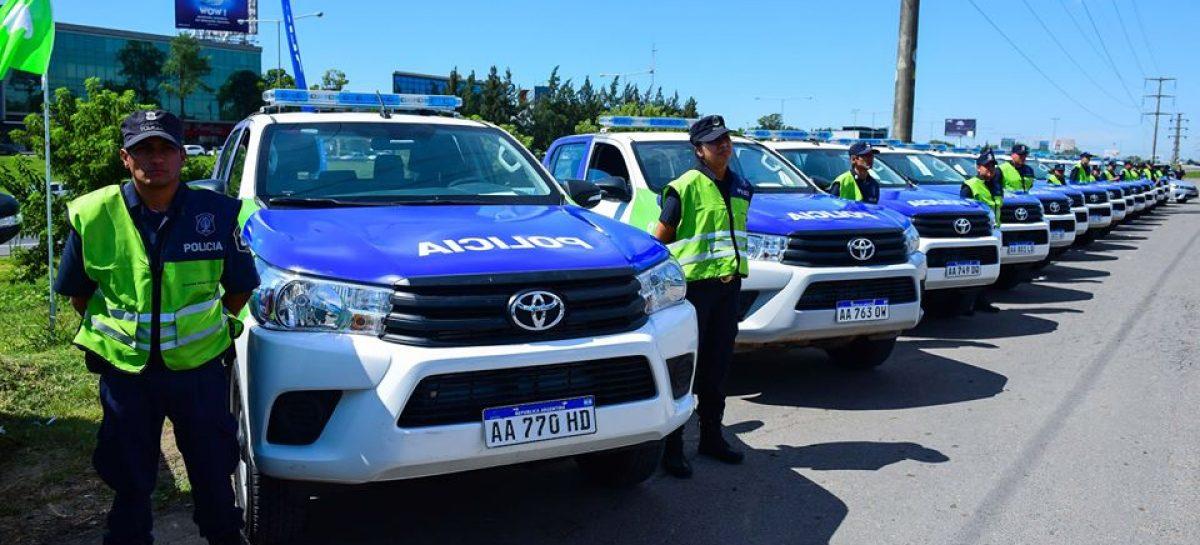 La Municipalidad de Escobar recibió 6 patrulleros más para cubrir las cuadrículas del distrito