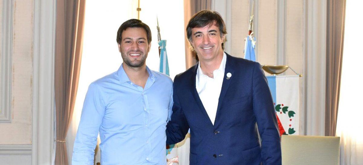 Leandro Costa se reunió con Esteban Bullrich, posible candidato a senador nacional
