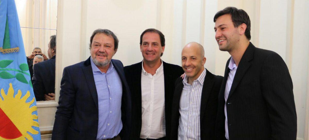 Roberto Costa presentó el proyecto para la creación del Departamento Judicial Pilar – Escobar