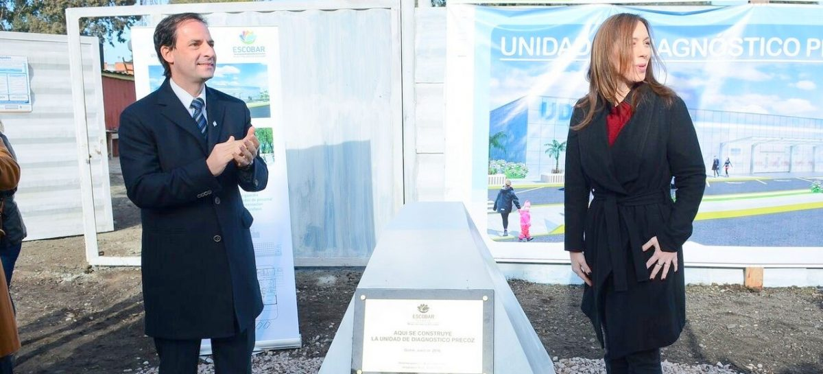 Ariel Sujarchuk y María Eugenia Vidal inauguran mañana la UDP Horacio Dupuy en Garín
