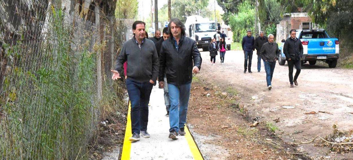 La Municipalidad de Escobar lanza un plan para construir más de 10 mil metros de veredas en los barrios más vulnerables