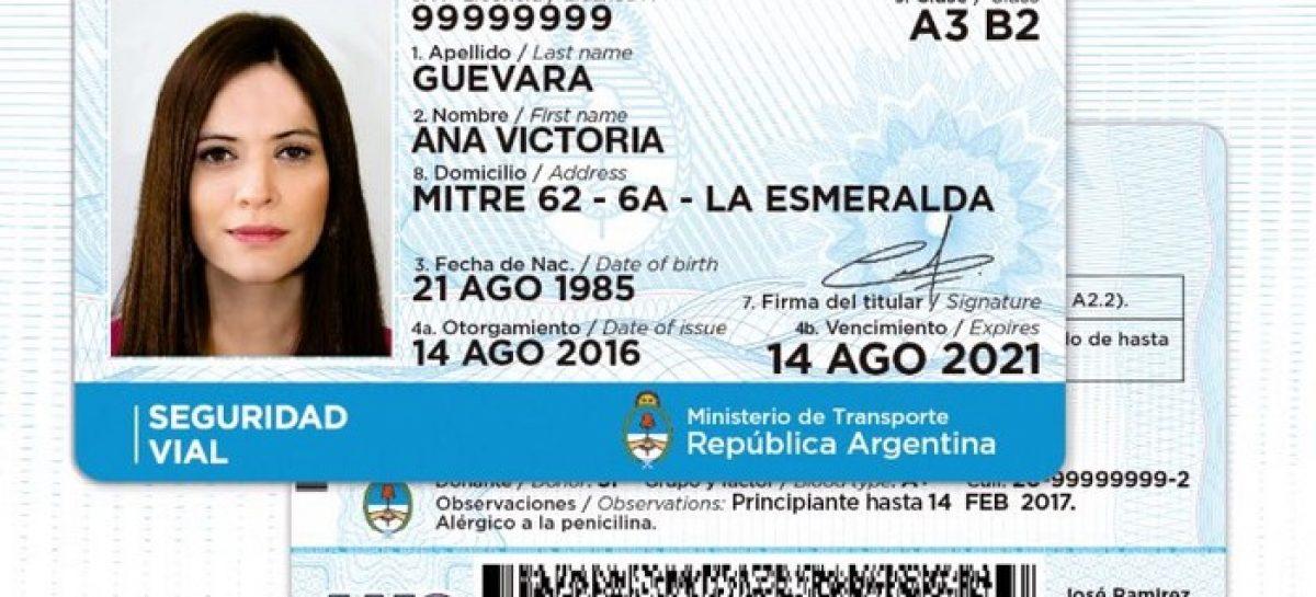 Implementan en el partido de Escobar la nueva licencia nacional de conducir
