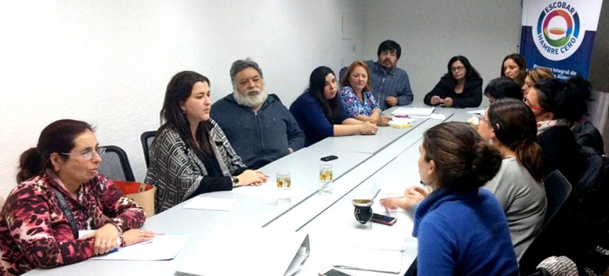 El Consejo Local de la Niñez analizó los avances del programa Escobar Hambre Cero