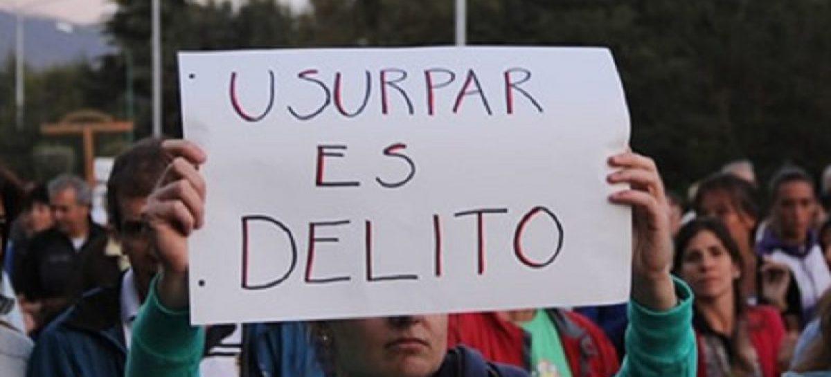 El municipio evitó la usurpación de un predio en la calle Los Gladiolos de Escobar