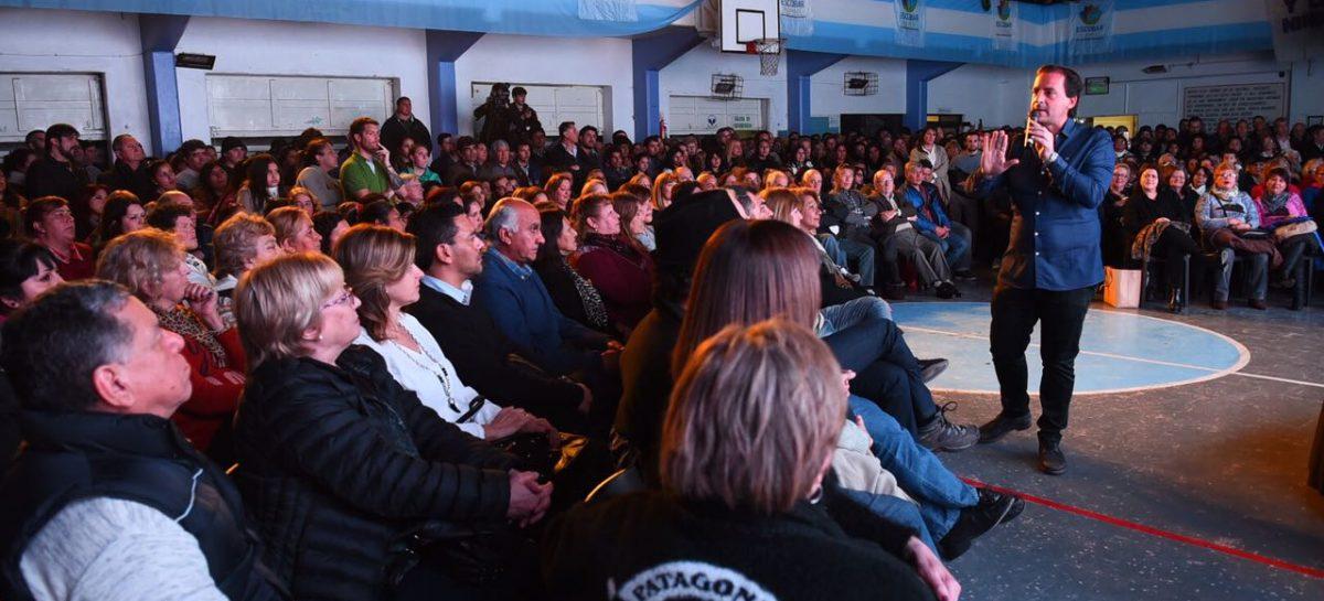 Ante un club Sportivo colmado el Intendente hizo un balance de los primeros 600 días de gestión