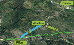 Ruta 25 Tramo RN8 y RN) etapa I RN 8 Villa Rosa