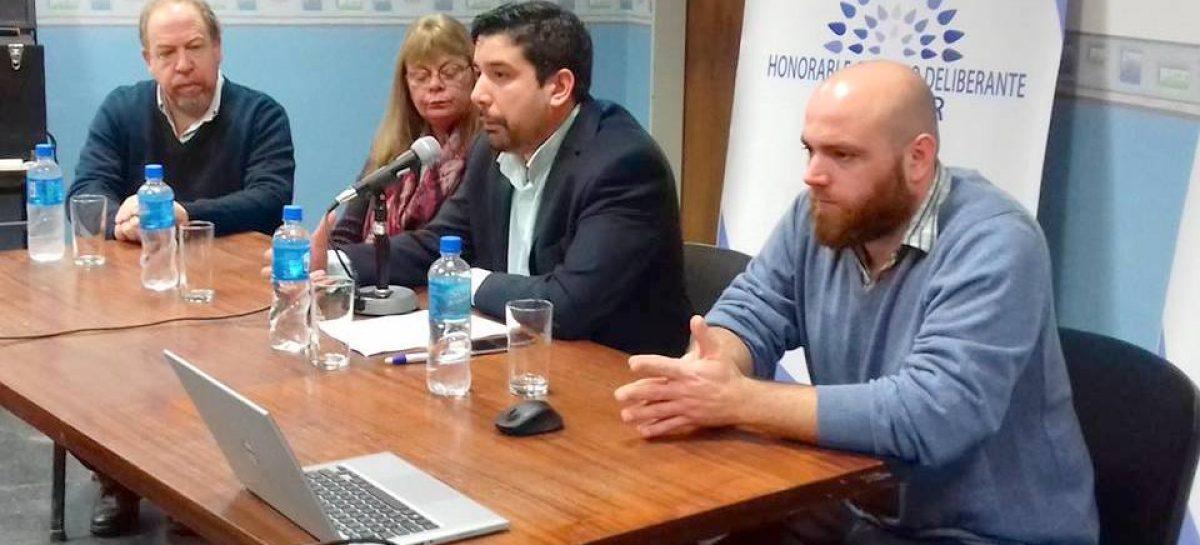 Se presentó oficialmente el nuevo portal web del Concejo Deliberante de Escobar