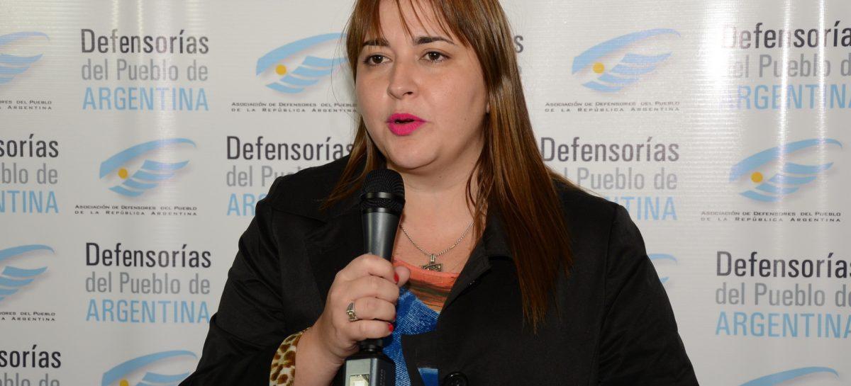 Rocío Fernández disertará invitada por la Defensoría del Pueblo de CaBa