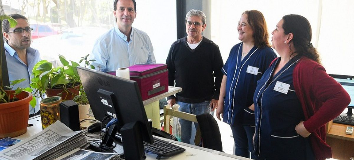 Ariel Sujarchuk supervisó las obras de puesta en valor de dos centros de salud en Matheu