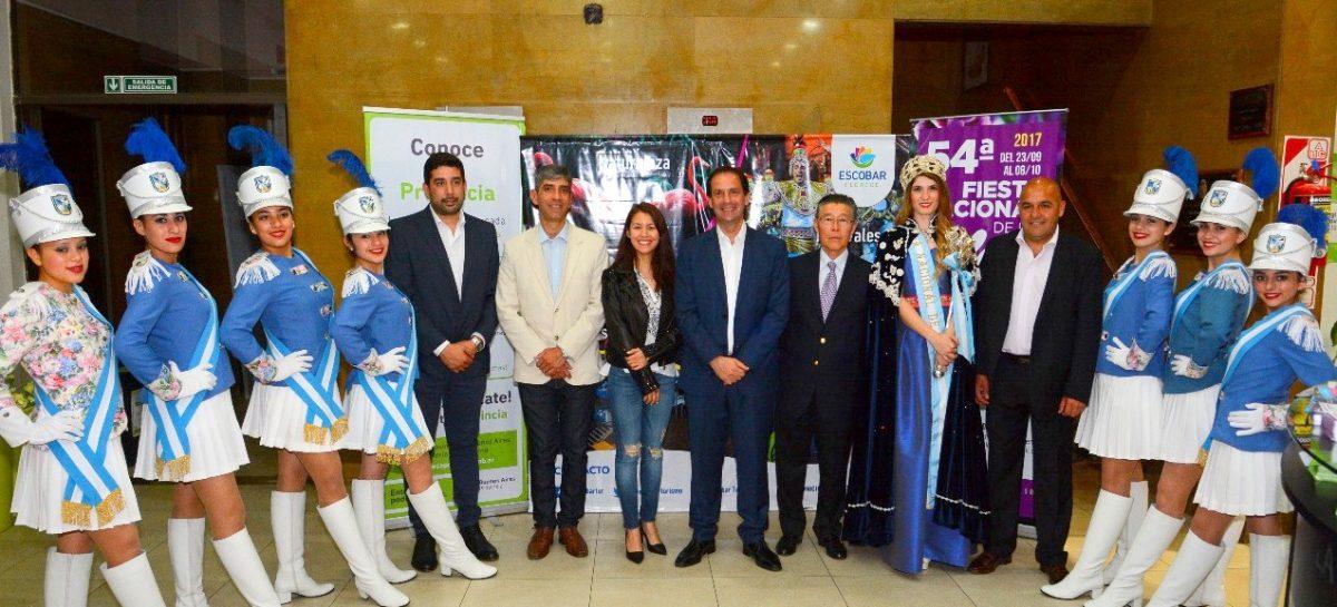 Se realizó en Capital Federal el lanzamiento de la 54ª edición de la Fiesta Nacional de la Flor