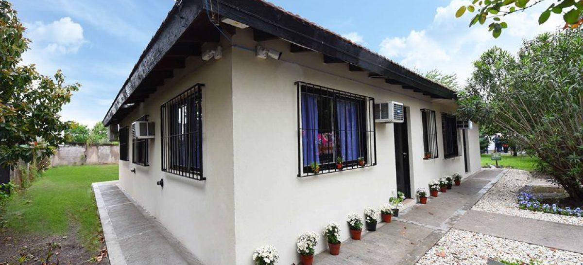 Se inauguró en Escobar el primer  hogar de protección integral para la mujer