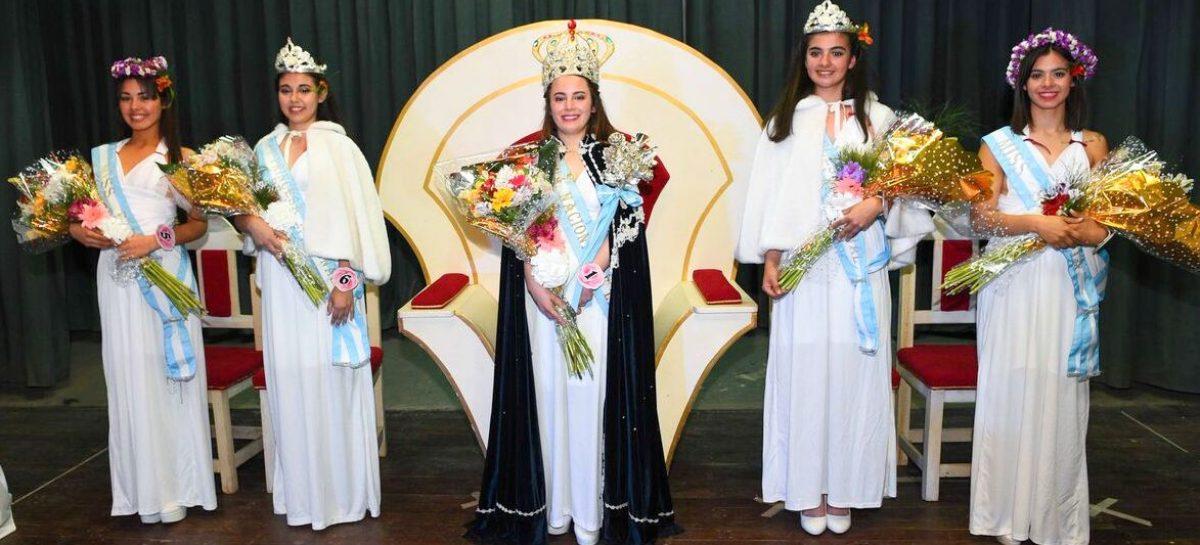 El intendente Ariel Sujarchuk participó del acto de coronación de Celeste García, la nueva Reina Nacional de la Flor