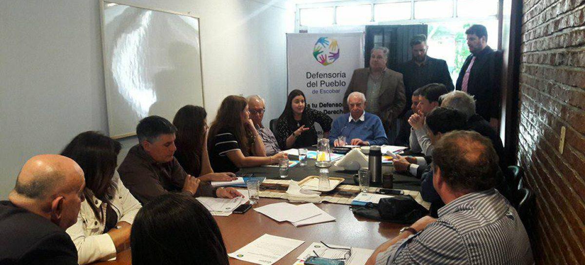 La Defensoría del Pueblo de Escobar fue anfitriona del plenario de Defensores del Pueblo Bonaerenses