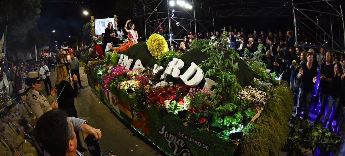 La Fiesta Nacional de la Flor cerró con una masiva celebración popular en las calles de Escobar