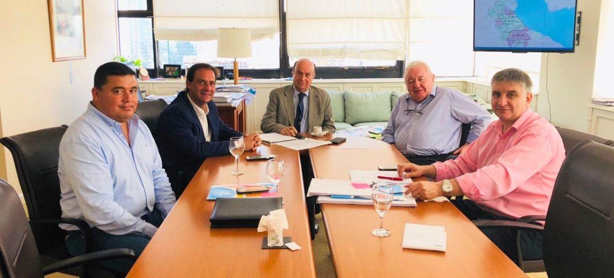Reunión del intendente Ariel Sujarchuk con AySA para avanzar en distintas obras pendientes en el partido de Escobar