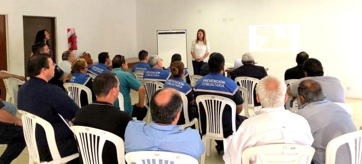 La Municipalidad de Escobar capacita a agentes de la Policía Local y de Prevención Comunitaria