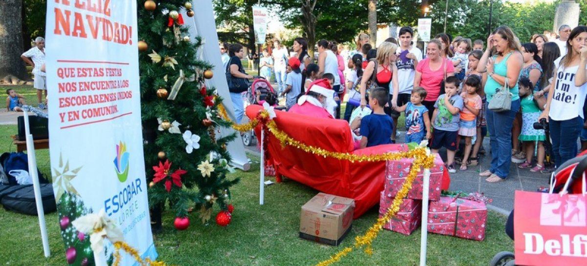 Comienzan las peatonales navideñas con promociones y descuentos organizadas por la Municipalidad de Escobar