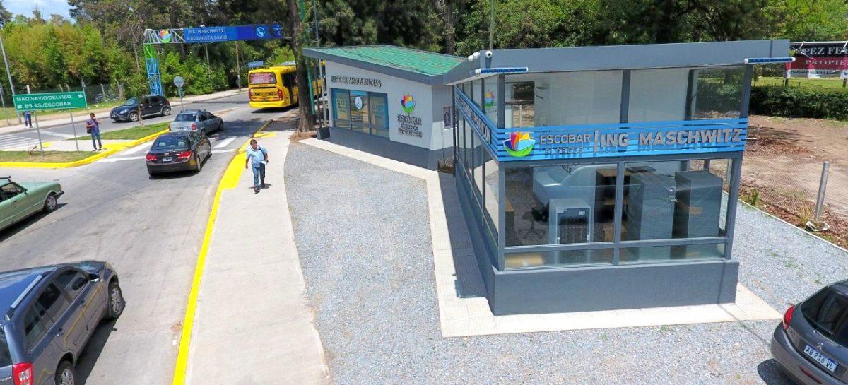 Quedaron inauguradas una nueva posta policial y la segunda base de ambulancias del distrito
