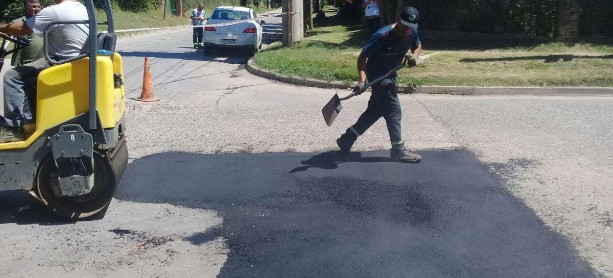 La Municipalidad realizó tareas de mantenimiento general en calles de Belén de Escobar, Matheu, Garín y Maquinista Savio