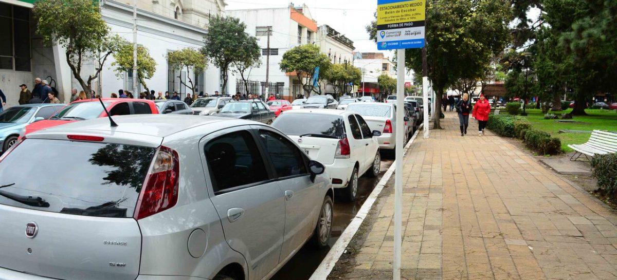 Belén de Escobar: el sistema de estacionamiento medido suma una nueva plataforma de pago