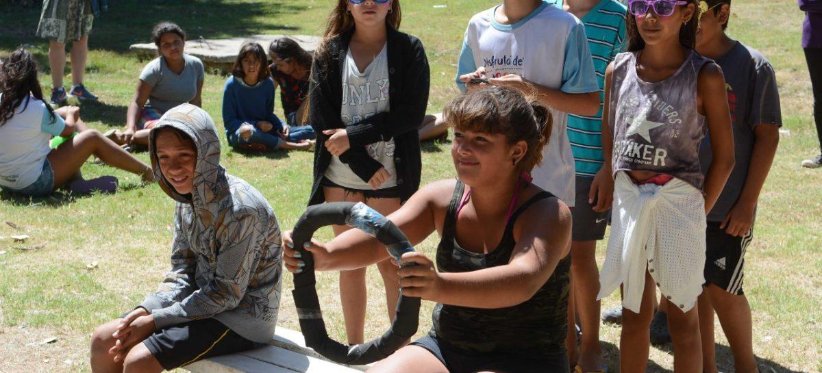 En las Colonias de Verano, se brindaron jornadas de capacitación sobre educación vial a más de 400 chicos