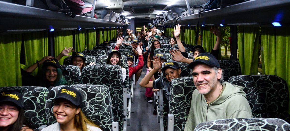 Orgullo de Escobar: la orquesta Tunquelén participa de un intercambio cultural en Montevideo