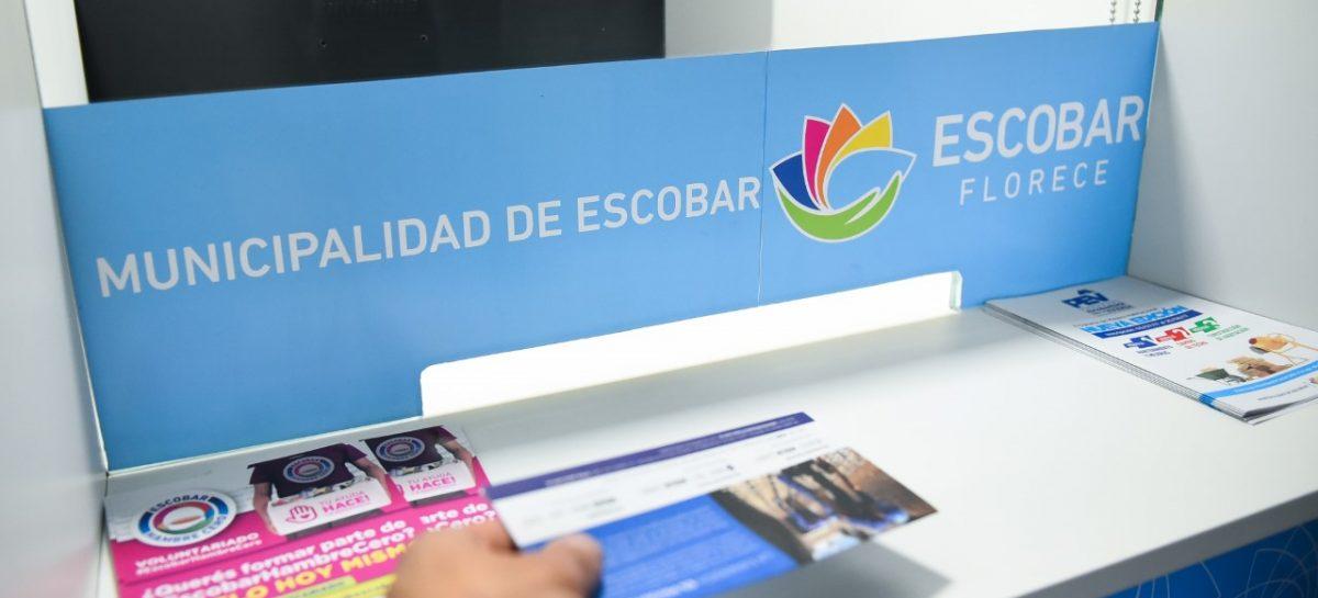 La Municipalidad de Escobar prorrogó la fecha para el pago anual y semestral con descuentos de la Tasa por Servicios Generales