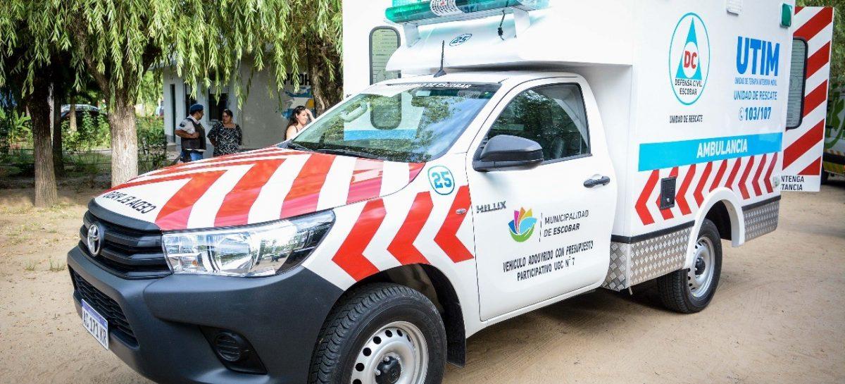 Nueva Unidad de Terapia Intensiva Móvil para los vecinos del Paraná de Las Palmas