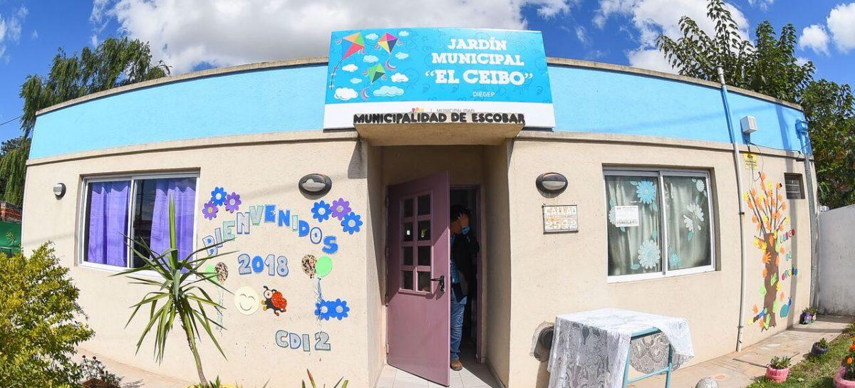 Histórico: en Belén, Ariel Sujarchuk inauguró el primer Jardín de Infantes municipal de Escobar