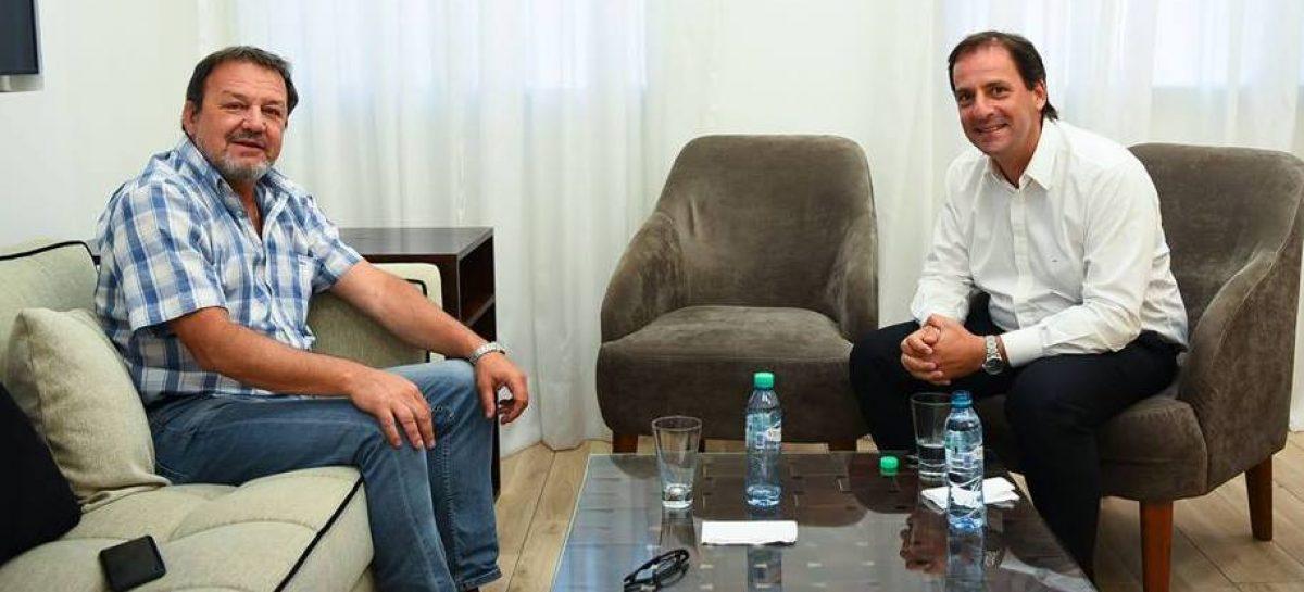 Sujarchuk recibió al senador provincial Roberto Costa