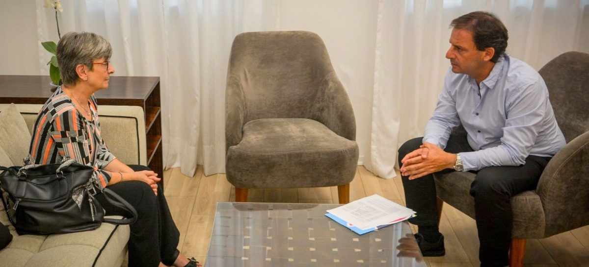 El intendente de Escobar se reunió con la fiscal Liliana Maero
