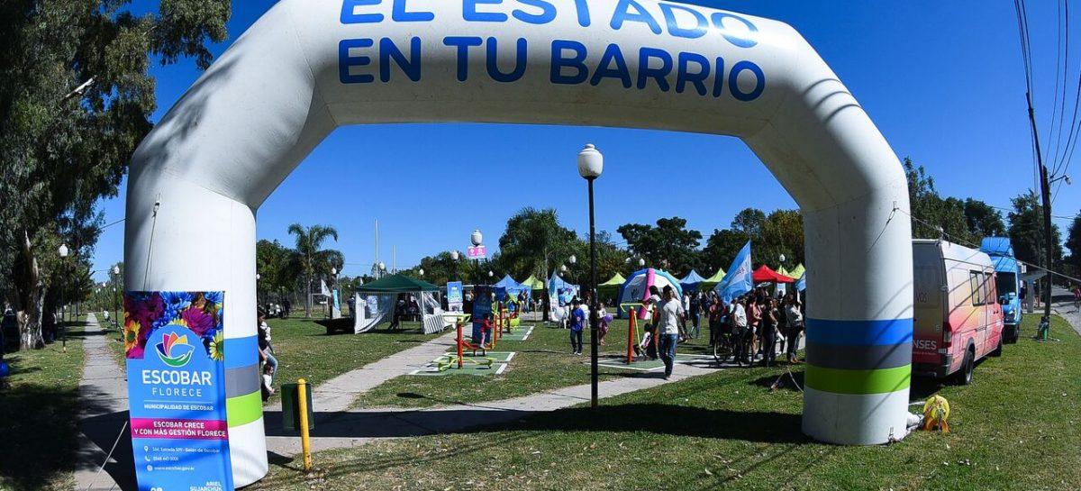 En Loma Verde, Municipio, Provincia y Nación realizan una nueva edición del programa El Estado en tu Barrio