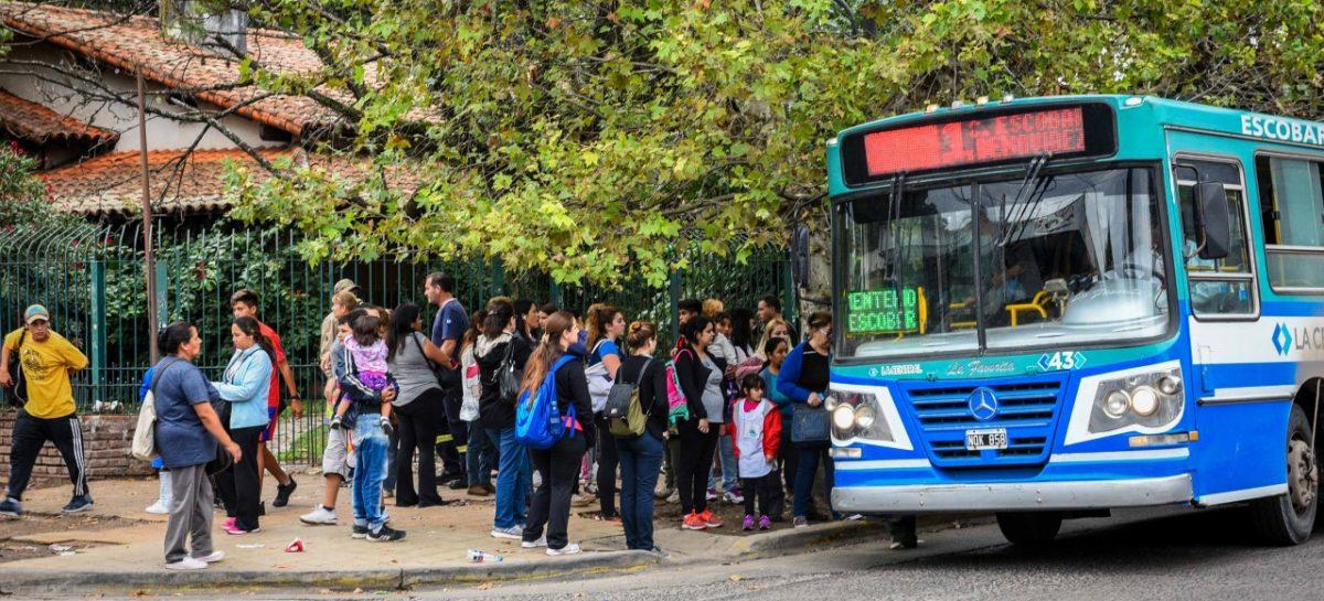 Ariel Sujarchuk creó la Agencia Municipal de Transporte para planificar y mejorar el tránsito del partido de Escobar