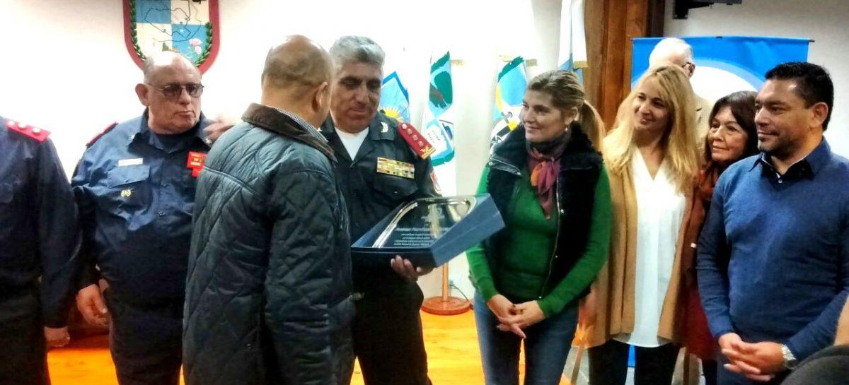 El HCD de Escobar homenajeó a los bomberos de todo el distrito