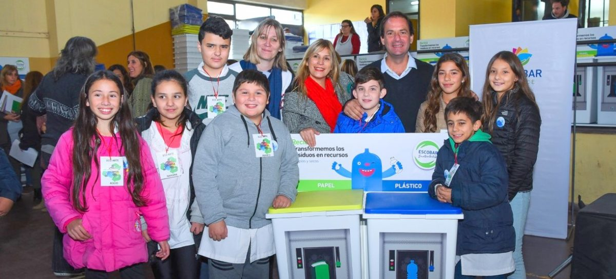 El intendente Ariel Sujarchuk lanzó el programa Escuelas por el Medio Ambiente ante 1500 estudiantes del distrito