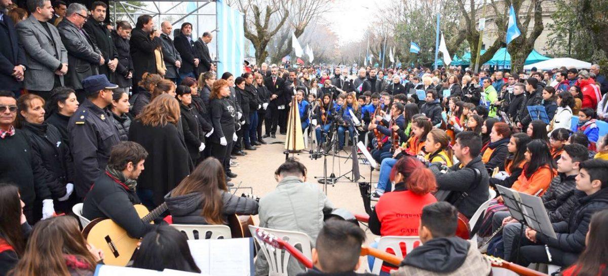 Miles de personas disfrutaron de los festejos de la Municipalidad de Escobar por el aniversario del Día de la Independencia