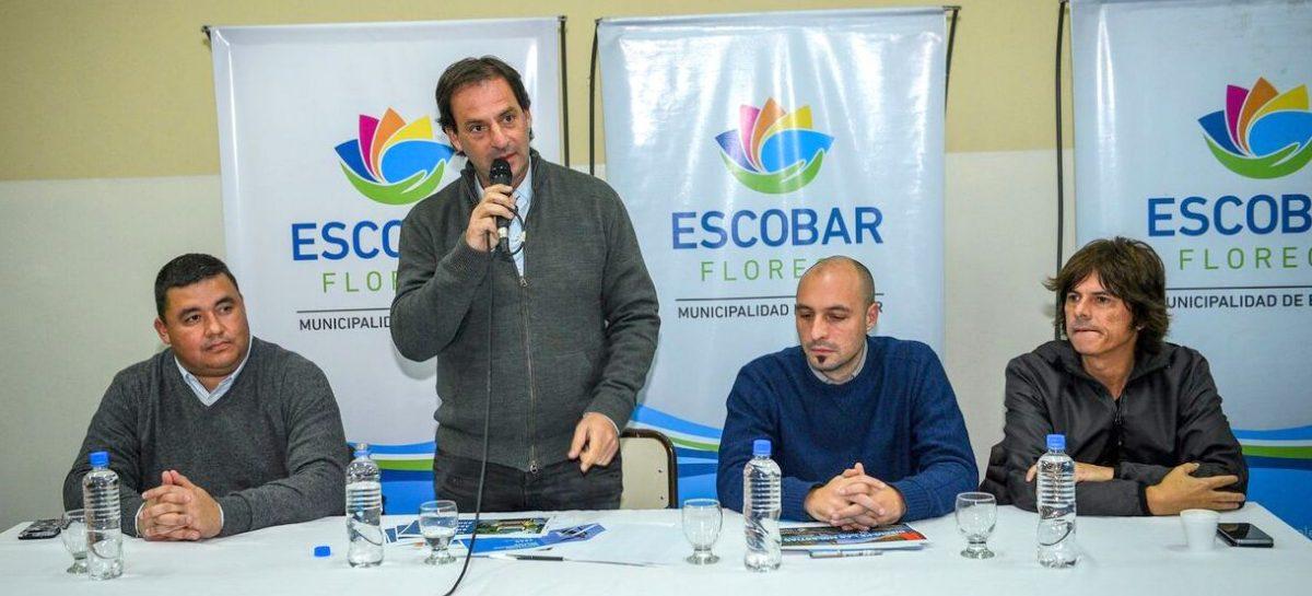 Mientras Nación y Provincia recortan la obra pública, Ariel Sujarchuk presentó un ambicioso plan de infraestructura para Escobar