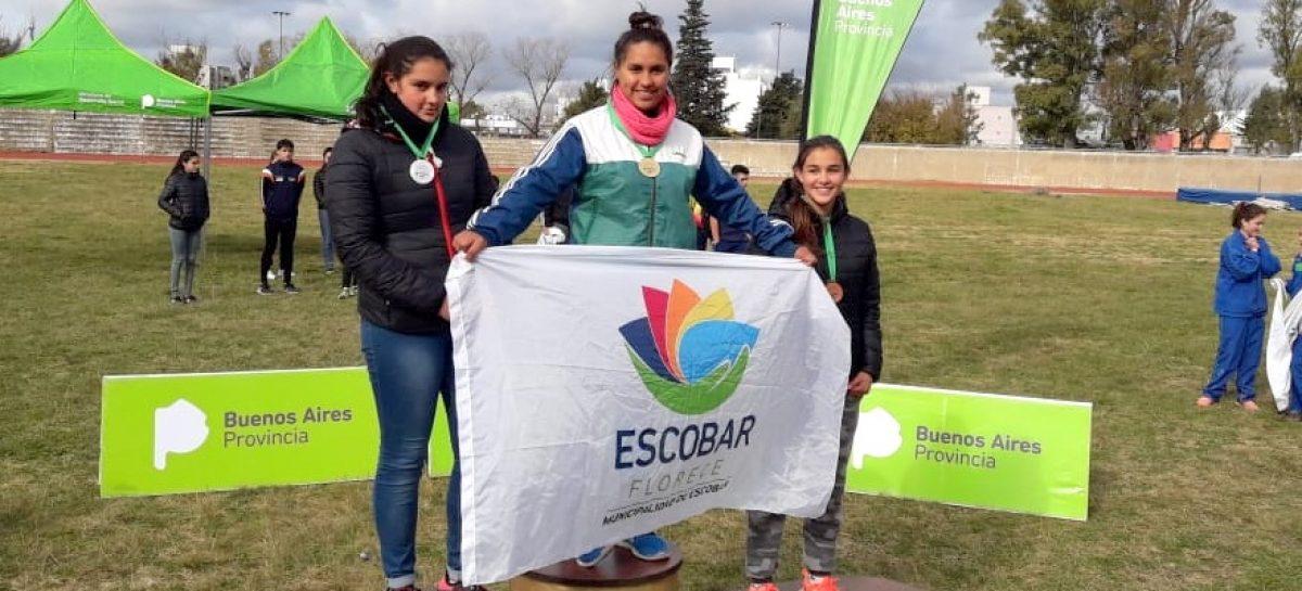 Destacada participación de deportistas escobarenses en diferentes competencias regionales de atletismo
