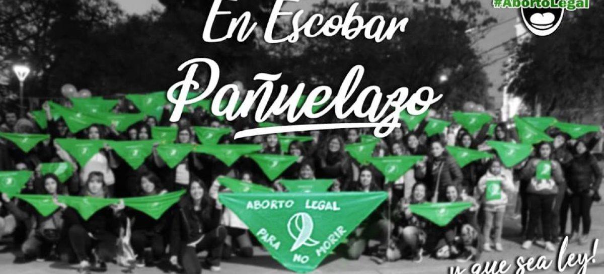 Pañuelazo en Escobar por el aborto legal, seguro y gratuito