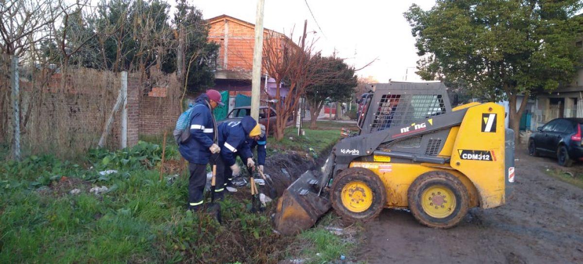 Siguen adelante los trabajos de la Municipalidad de Escobar para mejorar el espacio público