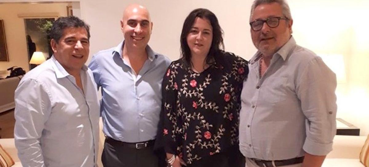 Rocío Fernández se reunió con Luis Raúl González Pérez, alto comisionado de DDHH mexicano (CNHD) y Ezequiel Sabor, embajador argentino en México